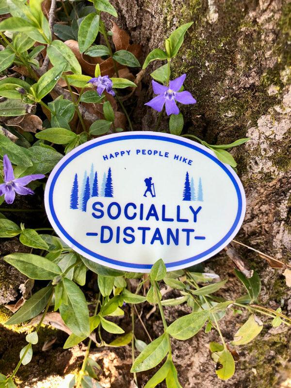 Socially Distant Fundraiser Sticker